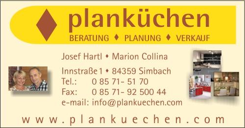 Plankuchen J Hartl M Collina Branchen Stadtplan